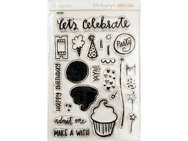 Studio Calico Clear Birthday Stamp Set #0033228