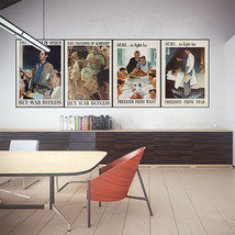 Wall Poster Art Giant Picture Print Norman Rockwell - Freedoms 0276PB - $12.99