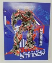 Transformer Decepticon Stinger Folder 2 pockets  - $5.26 CAD
