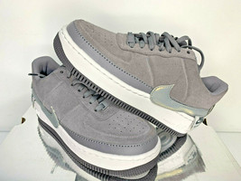 NEW SIZES 9 9.5 WOMEN Nike AF1 Air Force 1 JESTER LOW GUNSMOKE GREY Shoe... - $64.99