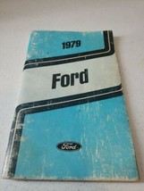 1979 Ford Original Owners Manual Complete 128 Pages Vintage Guide - $11.41
