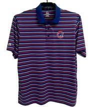 Majestic Cool base men's polo shirt striped Chicago Bears size XL/XG - $17.27