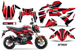 MX Decal Graphic Kit Dirt Bike Wrap For Kawasaki Z125 PRO 2017-2018 ATTA... - $178.82