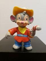 An American Tail: Fievel Goes West Fievel Figure! 1991 Applause - $7.81