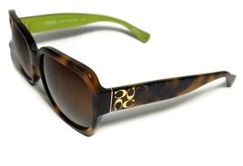NEW COACH Brown Gold Logo HC8001 Emma Sunglasses + Case - $115.99