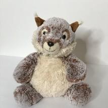 "Aurora Squirrel Plush Stuffed Animal Beanie 9"" Tall Sitting  - $23.76"