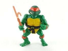 TMNT Soft Head Michelangelo w Belt & Kama, Vintage Teenage Mutant Ninja ... - $19.60