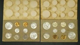 1958 P D Double Mint Set Original Packaging Envelope - $345.51