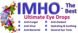 "Natural ""antibiotic"" eye drops to treat any infection. For people & pets. 2x10ml - $43.84"