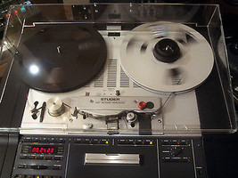 NEW Grey Custom Box Dust Cover for Studer Reel Tape Recorders - $157.41