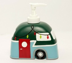 Christmas Lotion Soap Bathroom Pump Holiday Decorated Trailer - $15.98