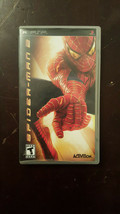 PSP Spider-Man 2 Video Game Original Jewel Case & Booklet No Game Included - $5.00
