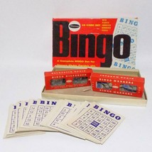 Whitman Bingo Game 4709 For Young And Old 45 Cards USA 1959 - $17.81