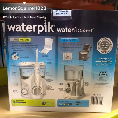NEW IN BOX Waterpik Ultra Plus Nano Water and 50 similar items