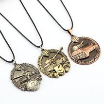 Word of Tanks Unisex Pendant / Necklace with Chain - Gaming, 3 Colour Variants - $7.99