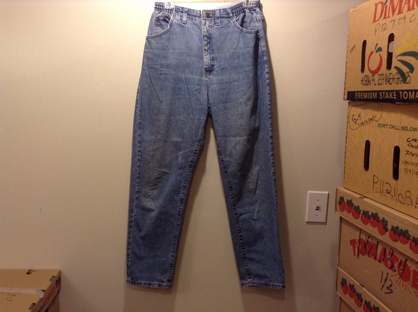 LEE Ladies Light Blue Denim Jeans
