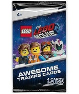 THE LEGO MOVIE 2 AWESOME  Pack of TRADING CARDS - $4.94
