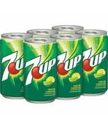 7Up Lemon Lime Soda 7.5 oz Mini Cans (Pack Of 6) - $16.78
