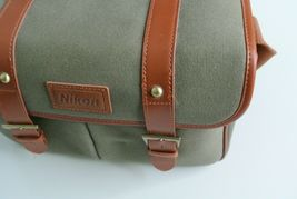 Nikon DSLR BAG/Nicon genuine camera shoulder bag Nicon SLR Canvas bag image 6