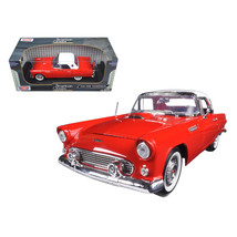 1956 Ford Thunderbird Hard Top Red 1/18 Diecast Model Car by Motormax - $54.94