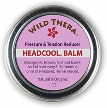 Wild Thera Headache Migraine Relief. Natural Herbal Balm with Essential ... - $61.90