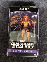 Marvel Legends Angela Guardians of the Galaxy W/ Titus BAF Action Figure... - $29.69