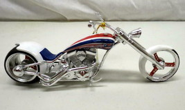 Rare Patriot Phantasy Chopper Custom Motorcycle American USA Bike by Wes... - $24.70
