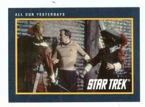 Star Trek card #231 All Our Yesterdays Captain James T Kirk William Shatner