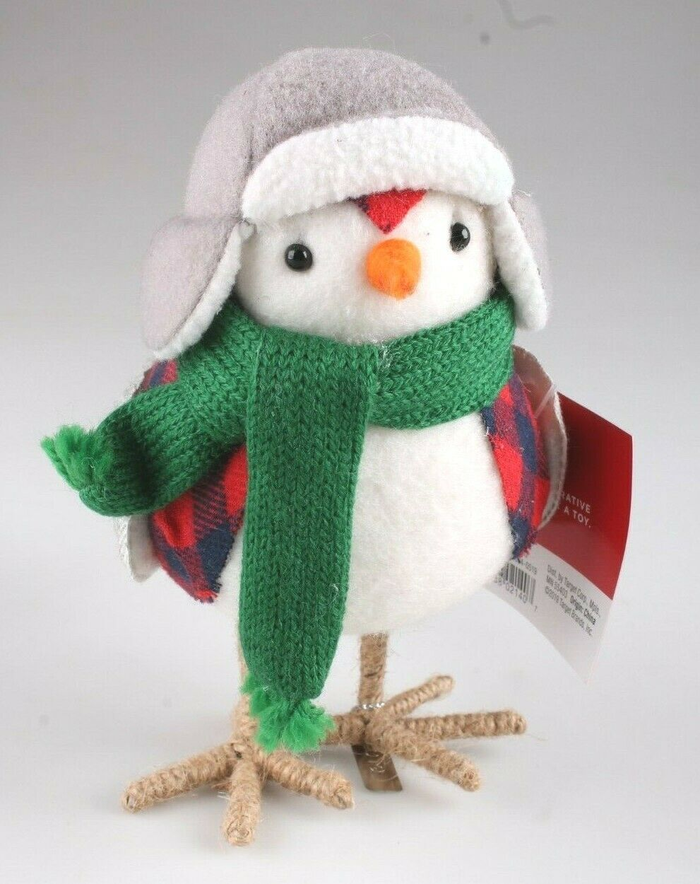 Target Christmas Bird Figure Holiday Decor 2019 Bayham Featherly Snow Bird