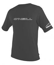 O'Neill Men's Basic Skins Slim Fit Rash Tee 3XL Graphite 3402IS