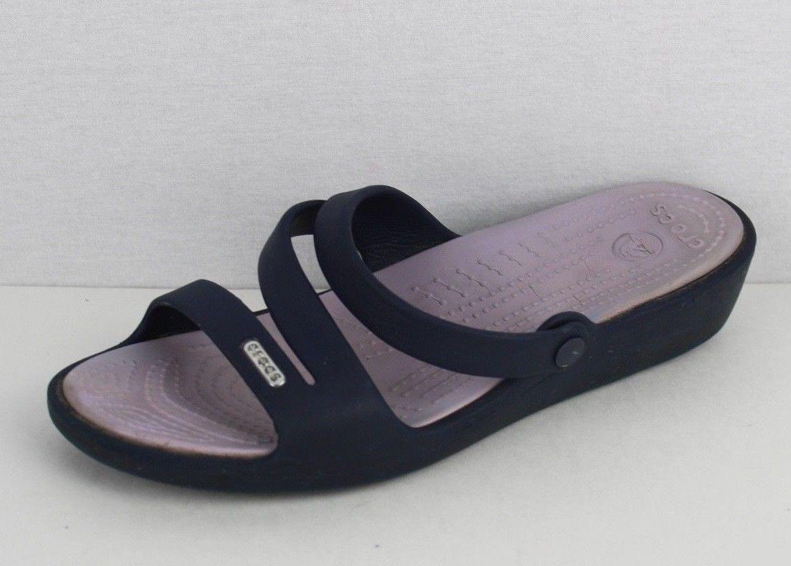 b4d8fcf4cd33f Crocs womens Patricia wedge sandals blue and 44 similar items. S l1600