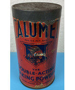 1934 Calumet 1Lb Double Acting Baking Powder Tin Metal Can American Indi... - $19.85