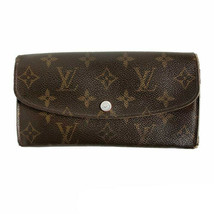 Louis Vuitton Portefeuille Emilie M60136 Brown Used Very good women From... - $346.28