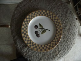 Block Country Orchard-Cherry salad plate 2 available - $2.38