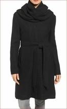 new COLE HAAN Signature women jacket coat 50% wool 356SB174 black 2 MSRP... - $79.99