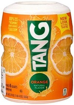 Tang Orange Powdered Drink Mix Makes 6 Quarts, 20-ounce Canister 2-pack