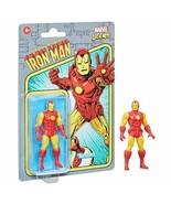 NEW SEALED 2021 Kenner Marvel Legends Retro Iron Man Action Figure - $24.74