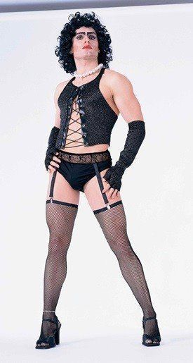 The Rocky Horror Picture Show Frank N. Furter Costume Size STANDARD, NEW UNWORN