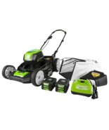 """Greenworks Pro 21"""" 80V Cordless Lawn Mower (Two 2.0 AH Batteries Include... - $647.99"""