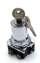 Cutler Hammer Cam-1 Keyed 2 Position Selector Switch W/ Keys H661 - $59.99