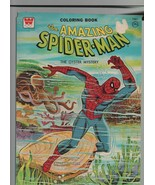 The Amazing Spider-Man - Coloring Book - The Oyster Mystery - 1976 Marve... - $39.19