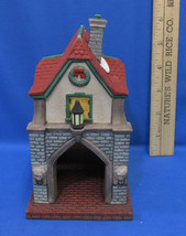 Department 56 Heritage Christmas Village Gate House Dept Porcelain Figure - $11.87