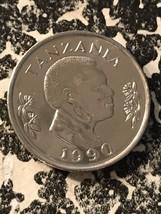 1990 Tanzania 50 Senti Lot#5983 High Grade! Beautiful! - $4.00