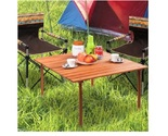 Wooden indoor outdoor folding table1 thumb155 crop