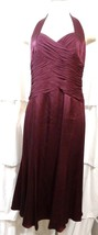 ANNE KLEIN Black Label Womens DRESS SZ 8 P 100% SILK NWT $198 MSRP - $65.44