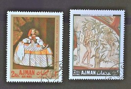 Ajman Stamps-Collection Set of 2 Free Shipping- #3094   - $1.68