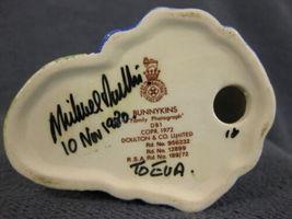 Royal Doulton Bunnykins Family Photograph DB1 England Vintage Retired Signed?? image 8
