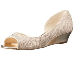 Nina Women's Rally-LS Dress Pump, Champagne, 6.5 Med. - $35.63