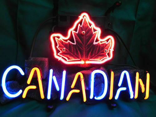 "Canadian Molson Maple Neon Sign 14""x10"" Beer Bar Light Artwork Poster"