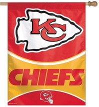 Kansas City Chiefs Banner 27x37**Free Shipping** - $33.24